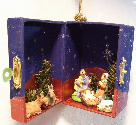 Paper Nativity Scene | Diy nativity, Christmas nativity scene ... | 409x445